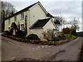 ST4490 : House at a junction, Five Lanes, Monmouthshire by Jaggery