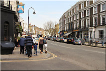 TQ2784 : Regent's Park Road by Kate Jewell