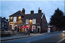 TM1645 : The Woolpack by N Chadwick