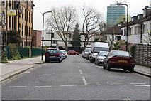 TQ2785 : Garnett Road, Belsize Park by Kate Jewell