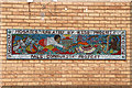 TQ2785 : Mosaic murals in the Russell Estate (2) by Kate Jewell