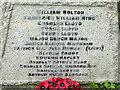 TM2850 : Roll of Honour by Keith Evans
