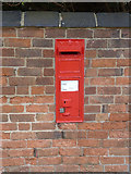 SK7645 : Sibthorpe postbox ref NG23 60 by Alan Murray-Rust