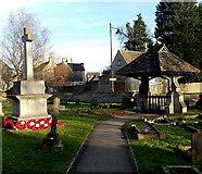 ST8893 : Lychgate, St Saviour's church, Tetbury by Jaggery