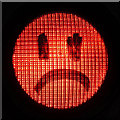 NT4836 : A sad traffic light by Walter Baxter