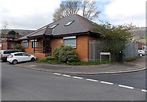 ST2896 : Maendy Square Health Clinic, Cwmbran by Jaggery