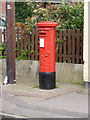SK7440 : Aslockton Post Office postbox ref NG13 259 by Alan Murray-Rust
