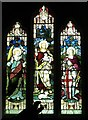 NY8777 : St. Giles Church, Birtley - stained glass window (2) by Mike Quinn