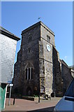 TQ4210 : The Tower, St Thomas à Becket at Cliffe, Lewes by Julian P Guffogg