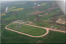SK7353 : Southwell Racecourse: aerial 2014 by Chris