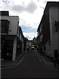 TQ9220 : Looking from High Street into Lion Street by Basher Eyre