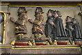 TQ4110 : Detail of Pelham sons, memorial, St Michael's church by Julian P Guffogg