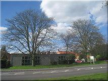 SK6443 : Burton Joyce Library by Jonathan Thacker