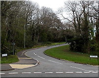 ST2896 : Southern end of Trinity Road, Cwmbran by Jaggery
