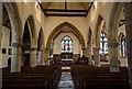 TQ4210 : Interior, St Thomas à Becket church, Cliffe, Lewes by Julian P Guffogg