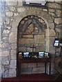 NY8777 : St. Giles Church, Birtley - priest's doorway by Mike Quinn