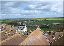 TQ9220 : St Mary Rye: view from the rooftop (i) by Basher Eyre