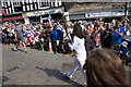 SO5924 : Olympic Torch, Ross on Wye by Stuart Wilding