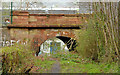 J2868 : Railway underbridge, Derriaghy by Albert Bridge