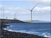 NT3698 : Fife coast at Buckhaven by William Starkey
