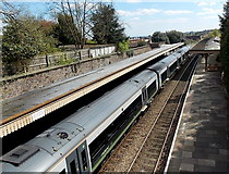 SO7845 : London Midland City train in Great Malvern railway station by Jaggery