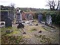 SN1516 : Graveyard, Bethel Chapel, Llanddewi Velfrey by welshbabe