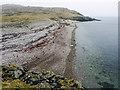 HU6872 : The beach at Vogans Voe by Julian Paren