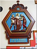 TQ9220 : St Anthony of Padua in Rye: Stations of the Cross (10) by Basher Eyre