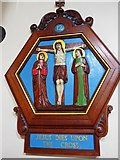 TQ9220 : St Anthony of Padua in Rye: Stations of the Cross (12) by Basher Eyre