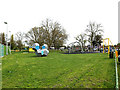 TQ0994 : Children's Playground at King George V Playing Fields by Geographer