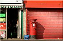 J3573 : Pillar box BT6 186, Belfast by Albert Bridge