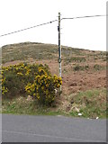 J0324 : Telephone line alongside Keggall Road by Eric Jones