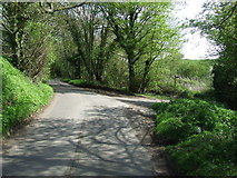 TM3072 : Footpath Off Country Lane by Keith Evans