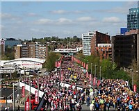 TQ1985 : Olympic Way from Wembley Stadium by Neil Theasby
