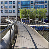 TQ2681 : Footbridge over the canal by David P Howard
