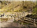 NY4020 : Gowbarrow Park, Bridge over Aira Beck by David Dixon