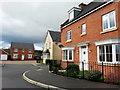 SO7219 : Modern housing in Huntley by Jonathan Billinger