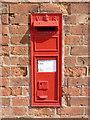 SK7146 : Kneeton postbox ref NG13 116 by Alan Murray-Rust
