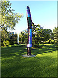 SU9850 : Sculpture & Fountain on Stag Hill Campus by Adrian Cable