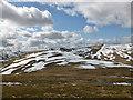 NN3741 : Upper slopes of Beinn Mhanach ('monk mountain') by Alan O'Dowd