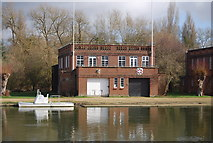SP5105 : Merton College and Worcester College Boathouse by N Chadwick