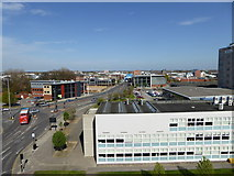 TA1029 : Hull College Buildings and North Bridge by Malcolm Sandilands