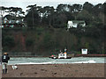 SX9372 : The pilot boat indicates the channel in the mouth of the River Teign by Robin Stott