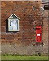 SK7942 : Kilvington postbox ref NG13 50 by Alan Murray-Rust