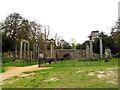 SU9768 : Leptis Magna ruins, Virginia Water (1) by Stephen Craven