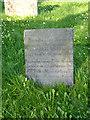 SK8043 : Belvoir Angel gravestone, Staunton by Alan Murray-Rust