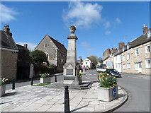 ST7593 : War memorial, Wotton-Under-Edge by Bikeboy