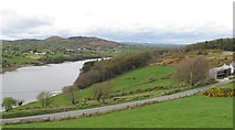 J0324 : Camlough Lake from the Mountain Road by Eric Jones