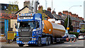 J3774 : Fuel tank delivery, Strandtown, Belfast - April 2014(3) by Albert Bridge