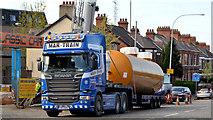 J3774 : Fuel tank delivery, Strandtown, Belfast - April 2014(3) by Albert Bridge